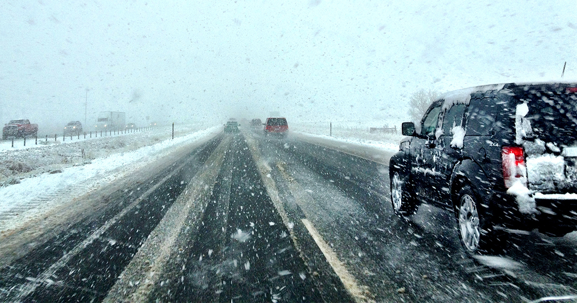 Winter driving dangers in Utah can be avoided if drivers follow certain guidelines. (Utah Department of Public Safety)
