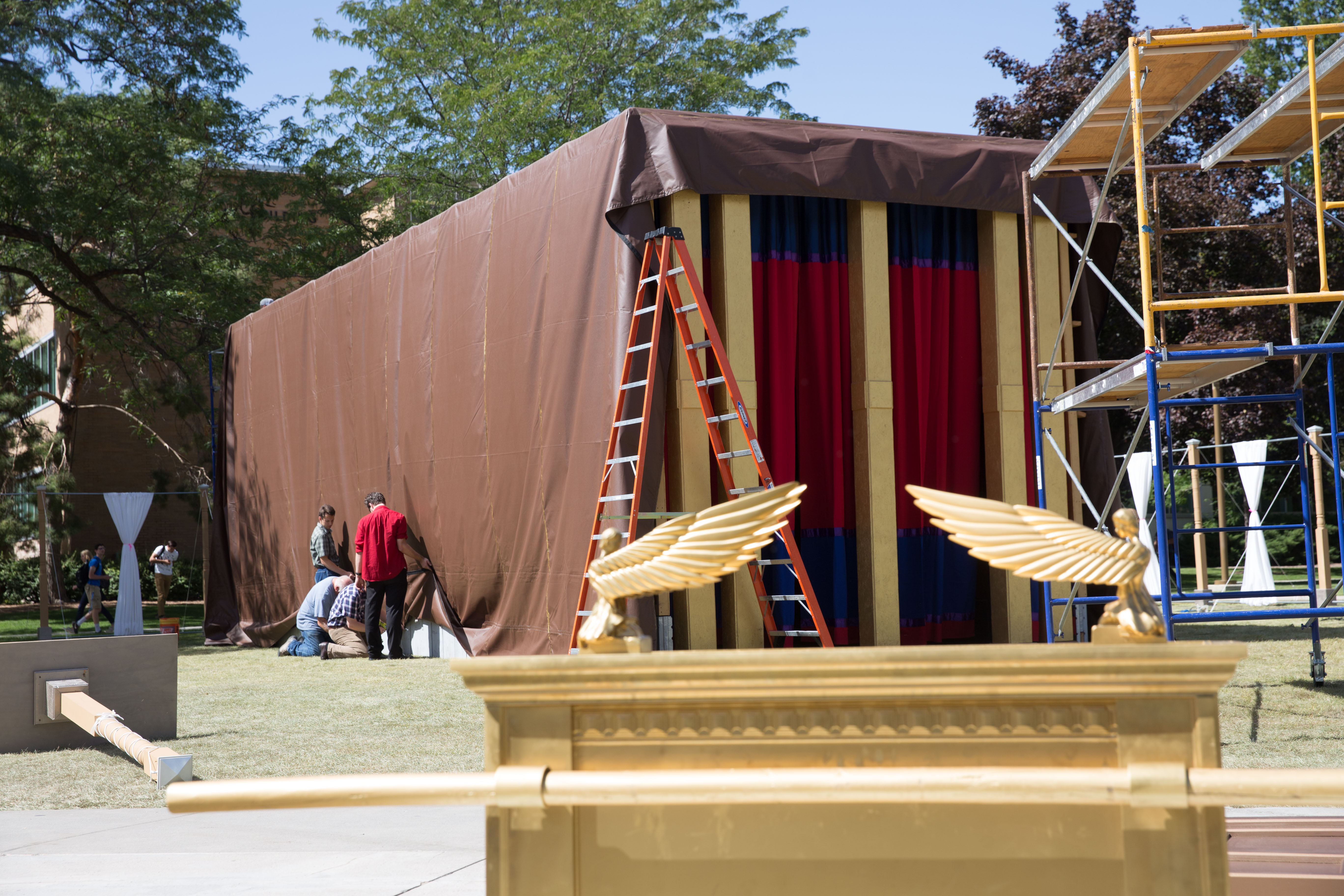 Biblical Tabernacle Replica Open For Tours On Campus The Daily