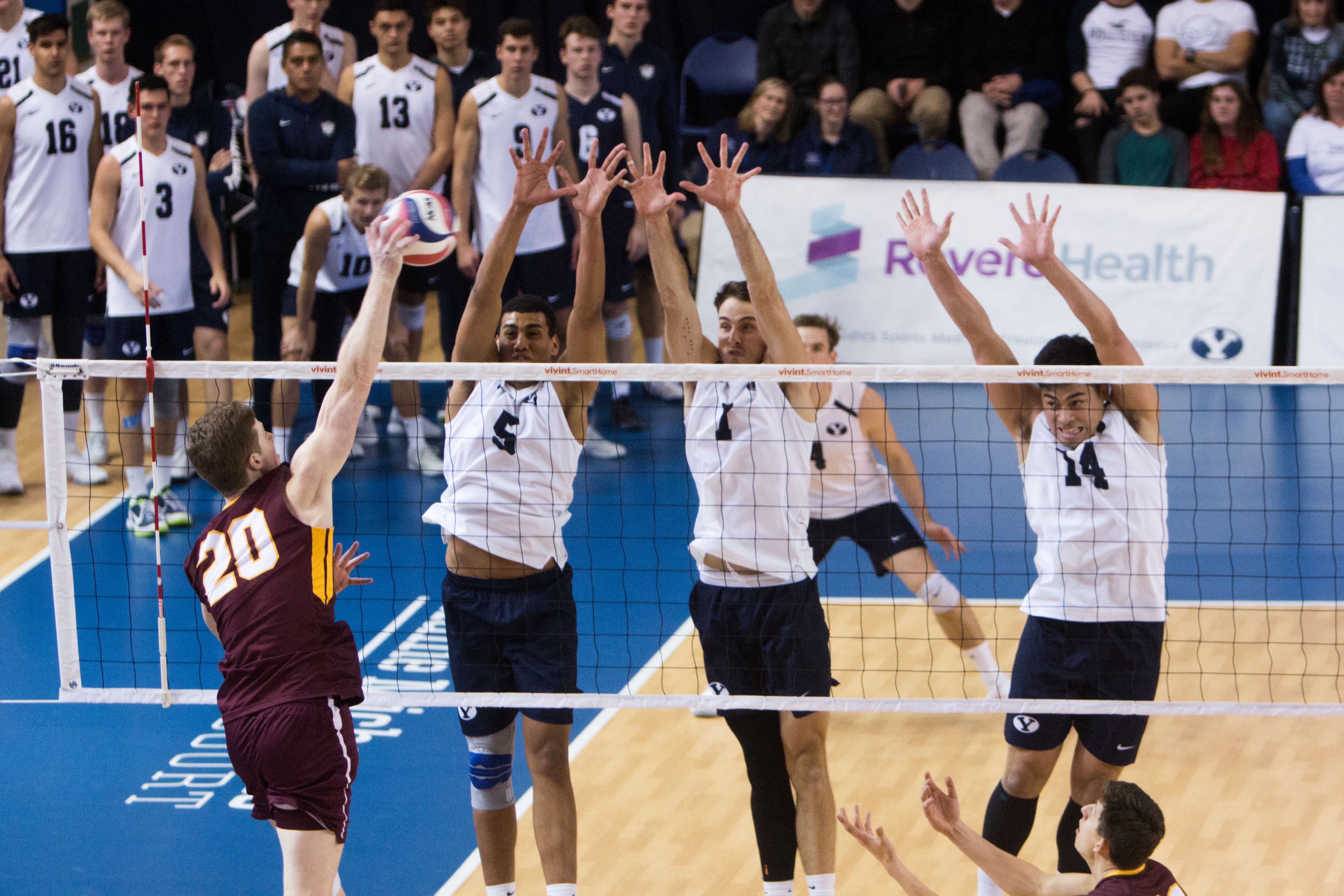 Byu Men S Volleyball Back In Action