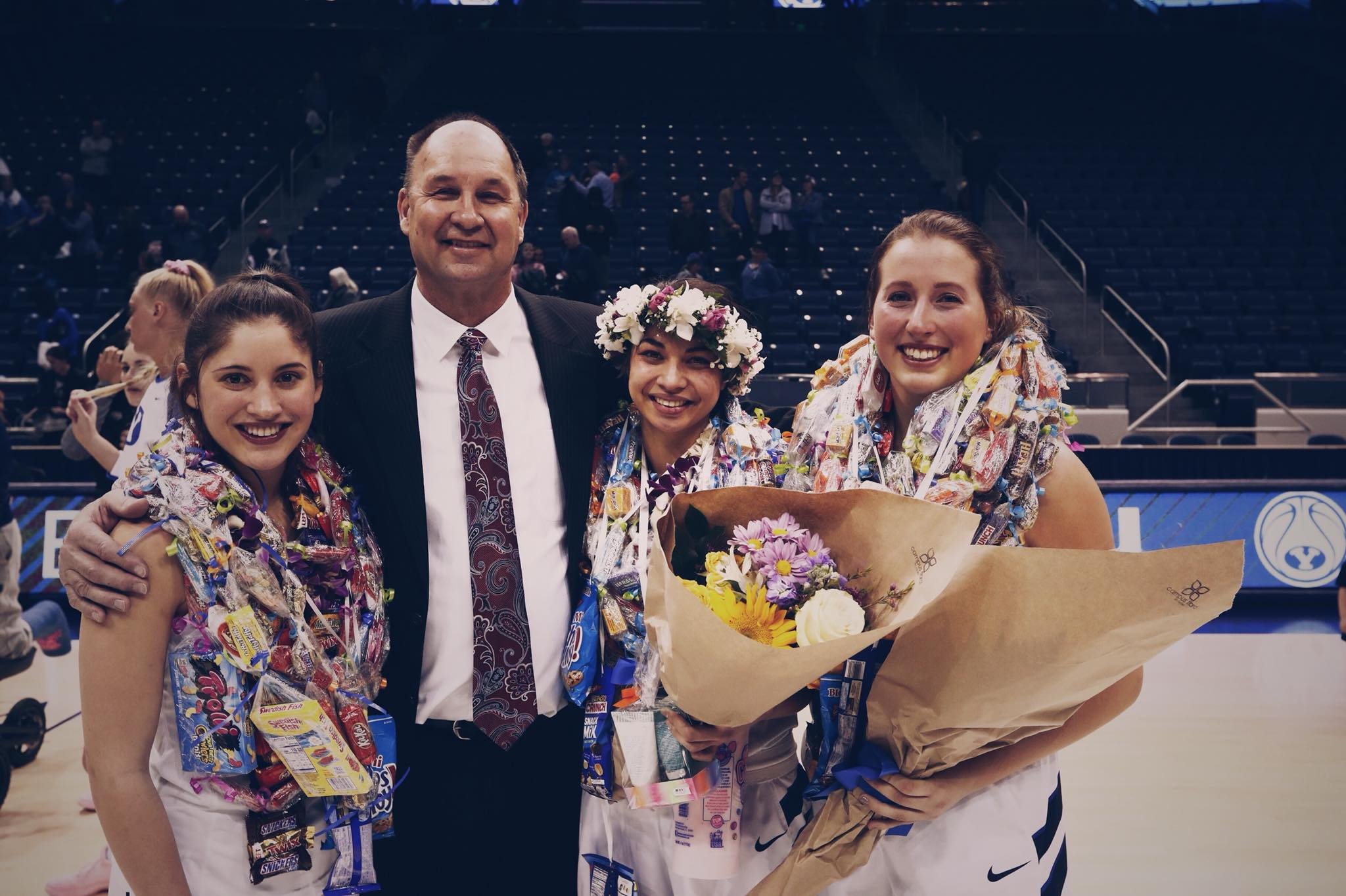 BYU women's basketball sends off seniors with 73-35 win over Portland