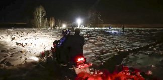 (Russian Ministry for Emergency Situations photo via AP)