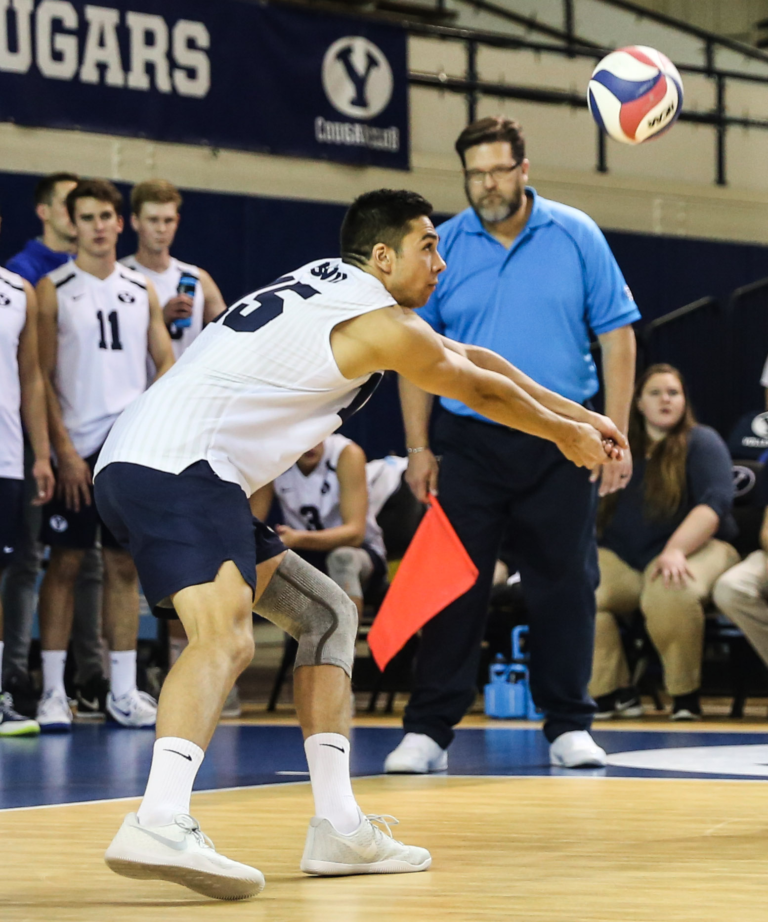 Brenden Sander talks volleyball future - The Daily Universe