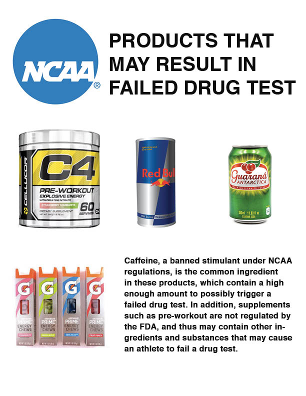 What are NCAA athletes allowed to put in their bodies?