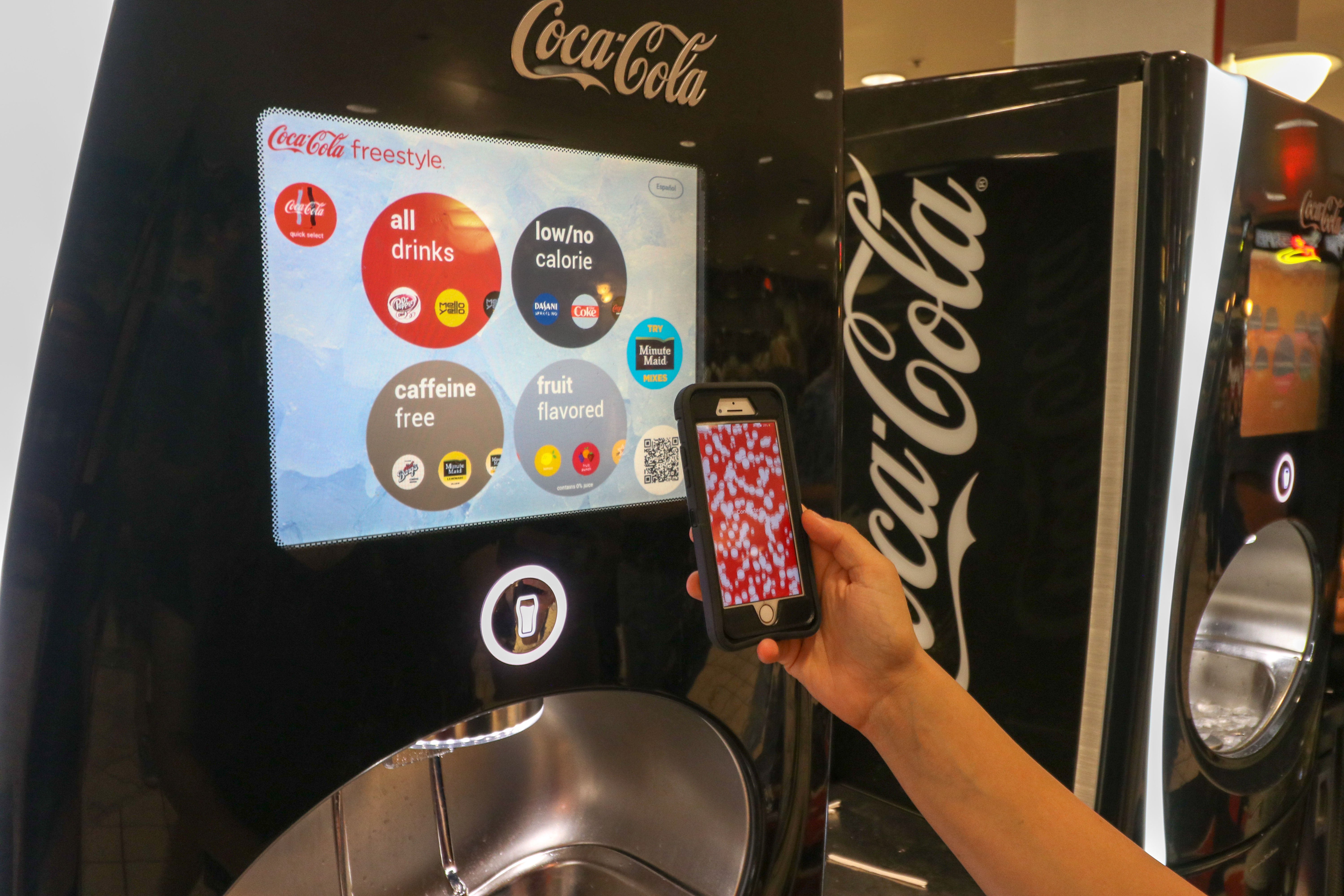 Coca-Cola Freestyle lets students customize their soda - The Daily