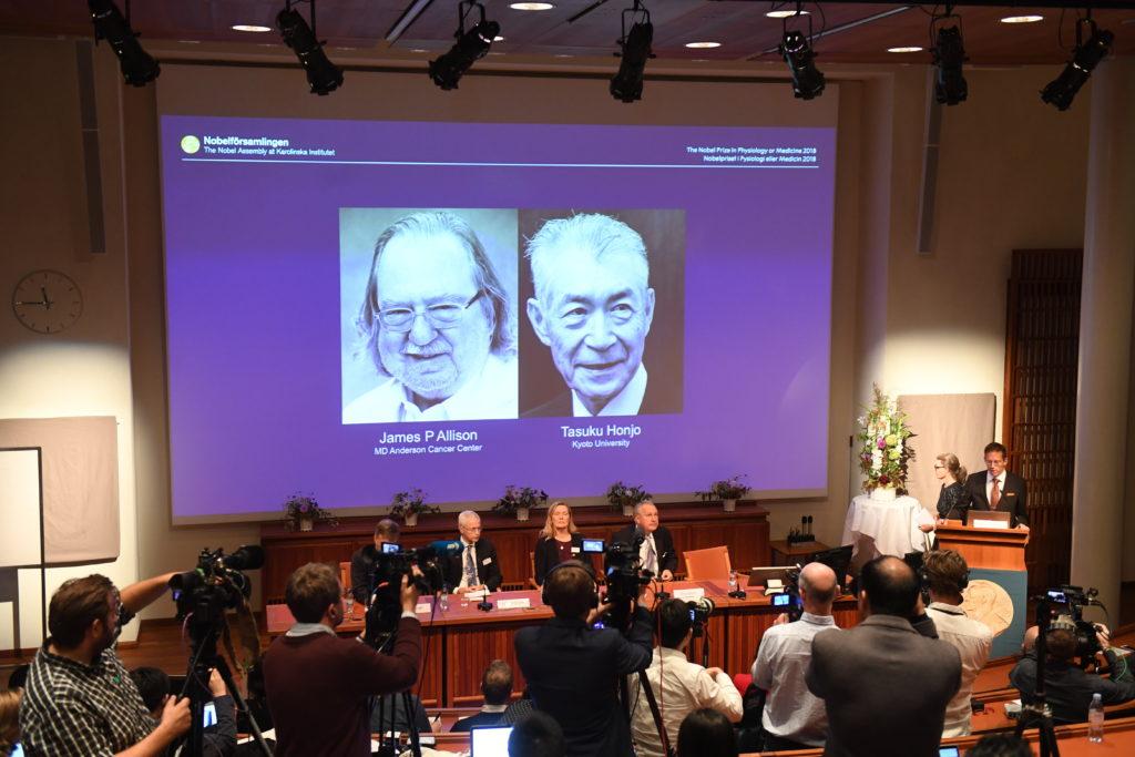 James Allison, Tasuku Honjo win Nobel for cancer research - The