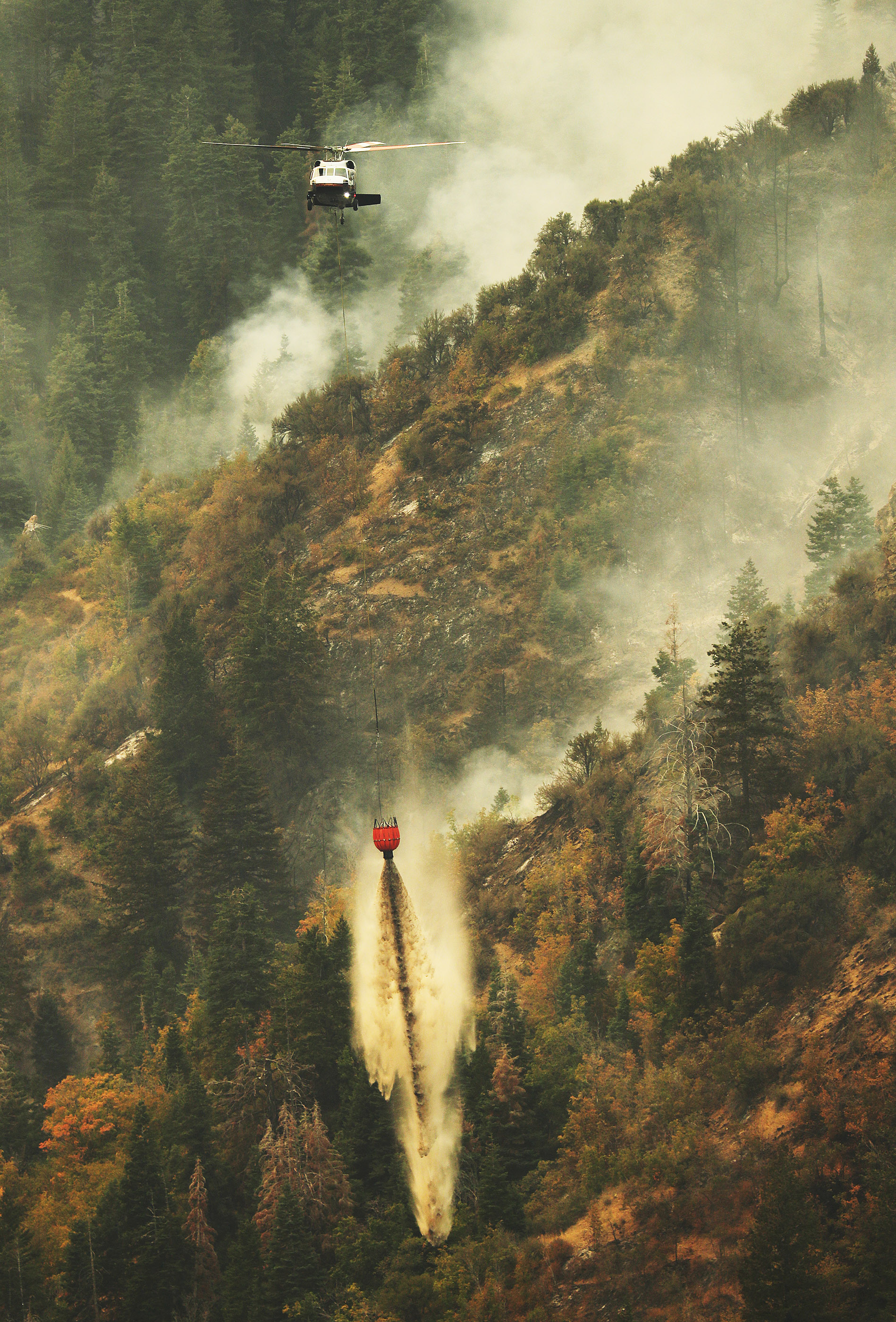 How drones affect aerial firefighting process - The Daily