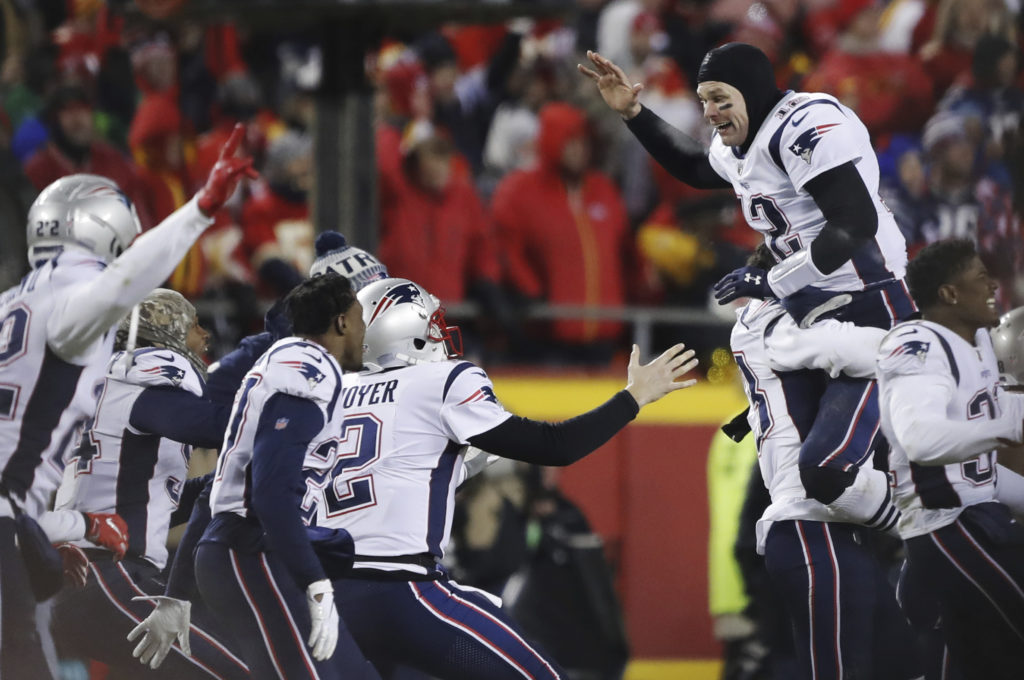 the latest aa793 f0fe7 Super Bowl  Pats vs Rams in a meeting of Past vs Future - The Daily Universe