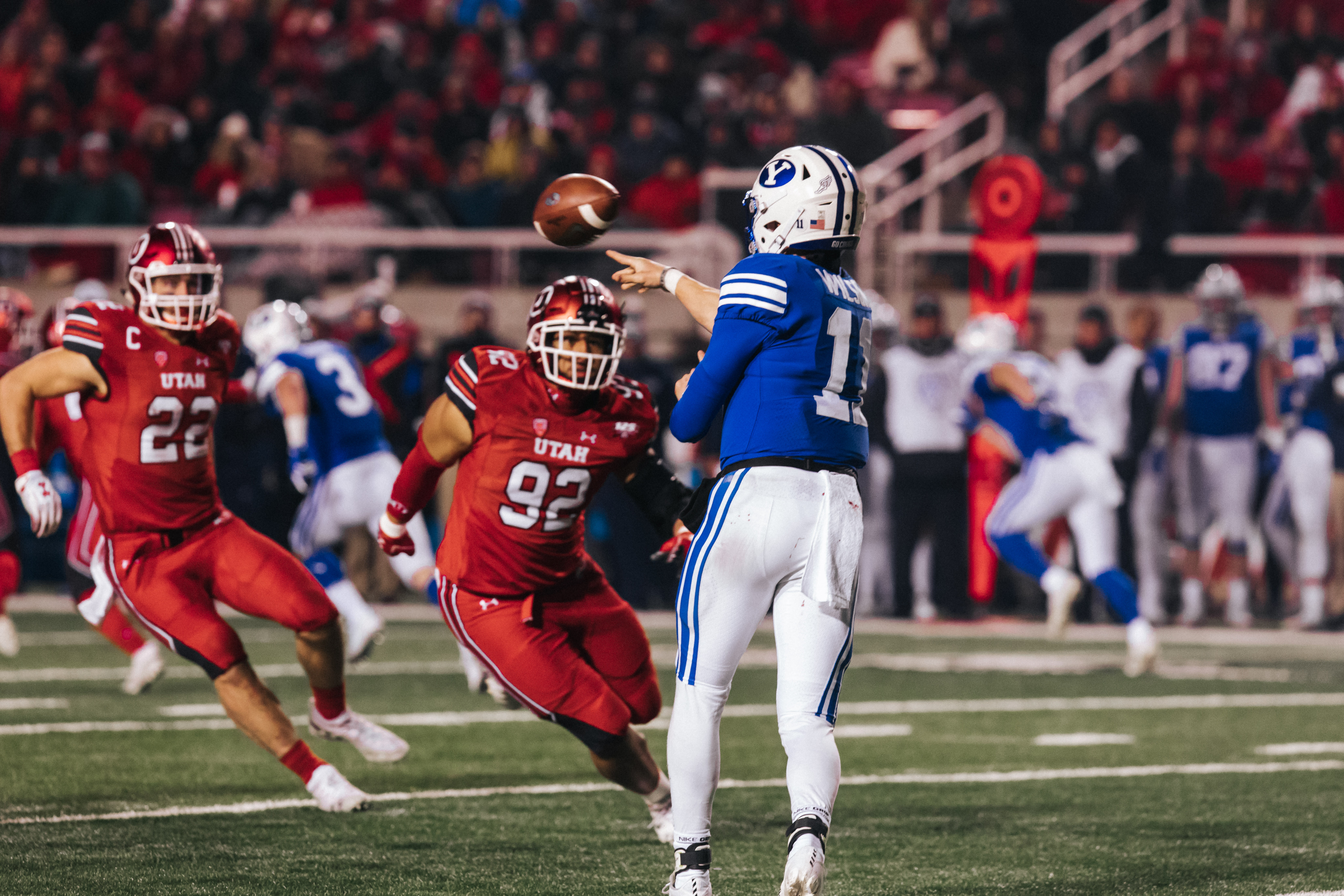BYU football extends series with Utah through 2024 - The ...