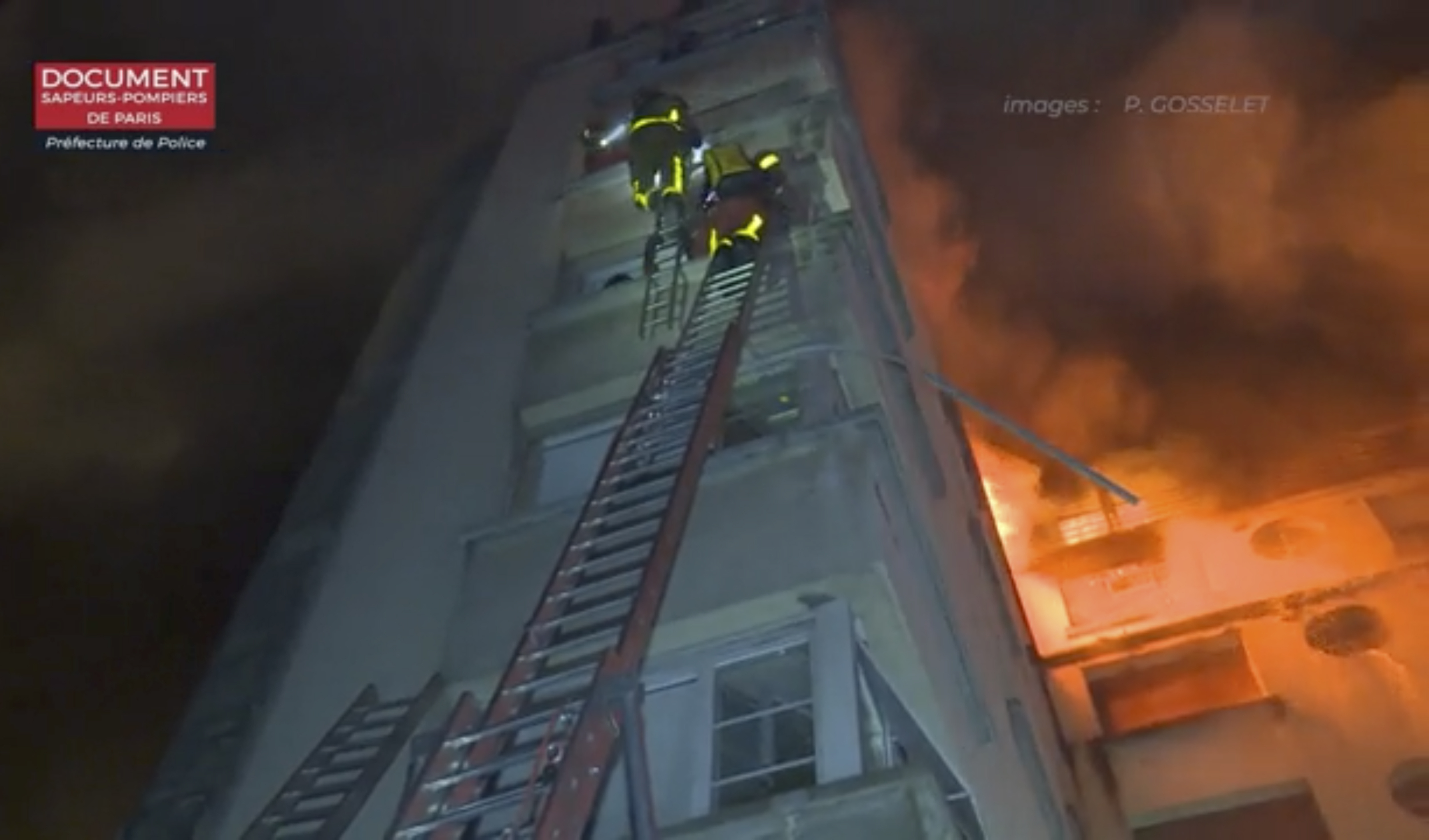 (Paris Fire Dept. via AP)
