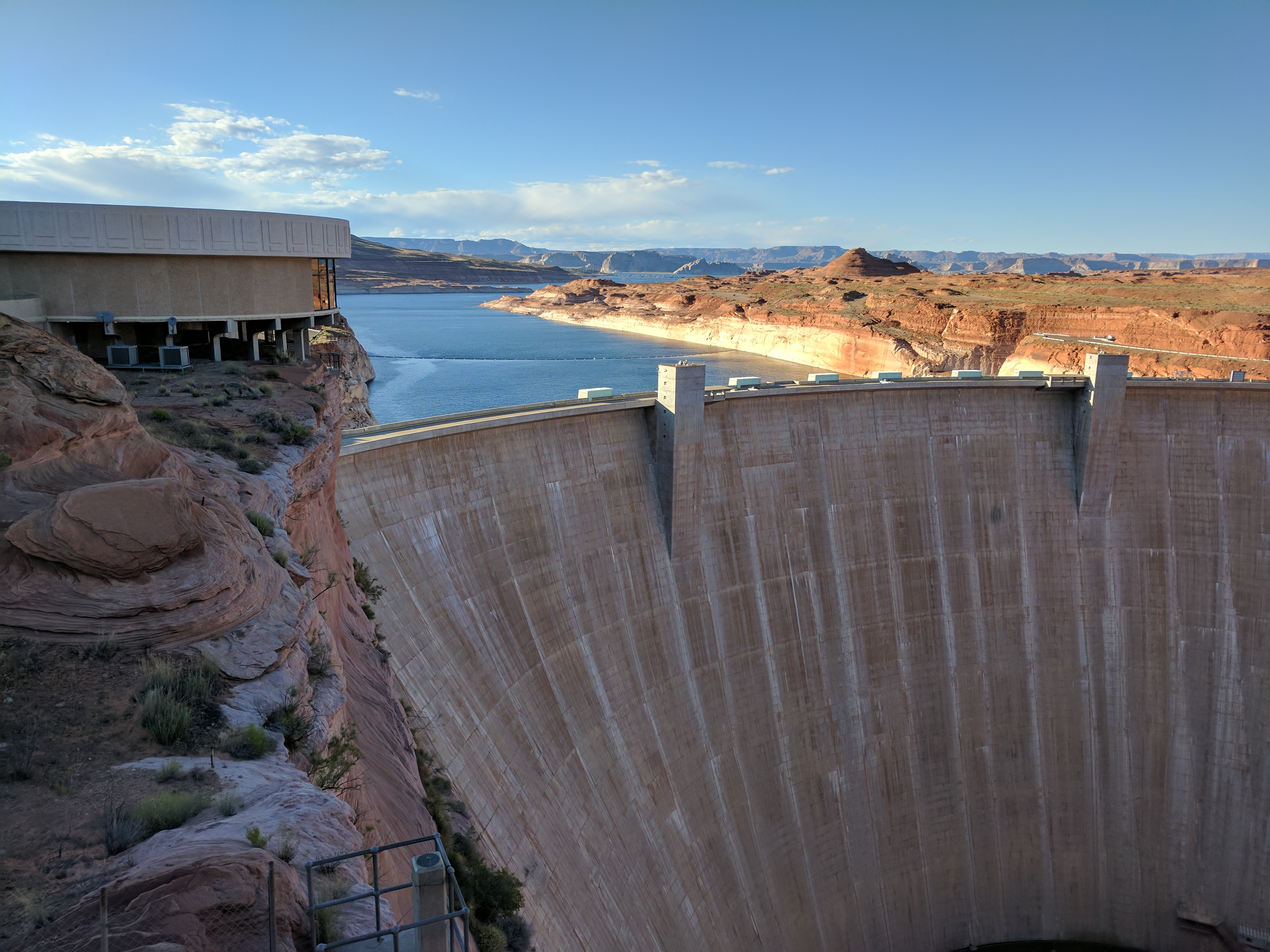 Lake Powell's water levels on the rise — for now