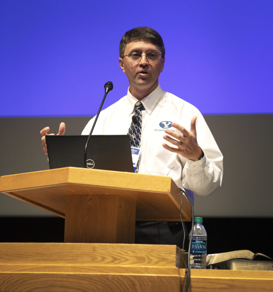 Education Week: BYU professor talks 'communal covenants,' The Book of Mormon, gathering Israel - The Daily Universe