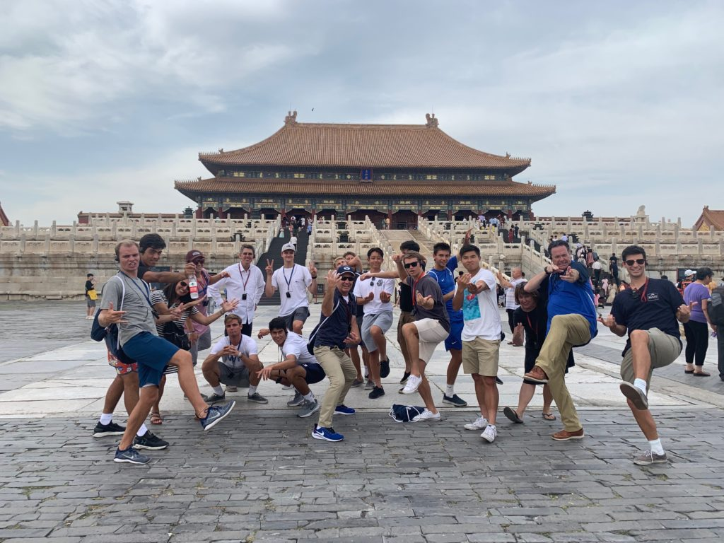 BYU men's tennis team members act as ambassadors in Asia - The Daily Universe