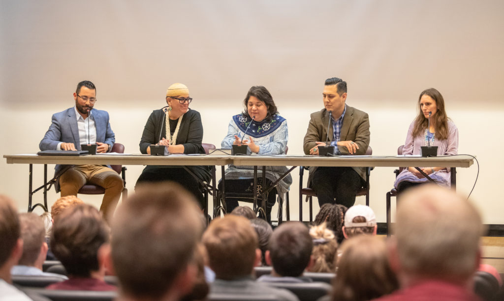 LDS Native American panel discusses perspectives on Columbus