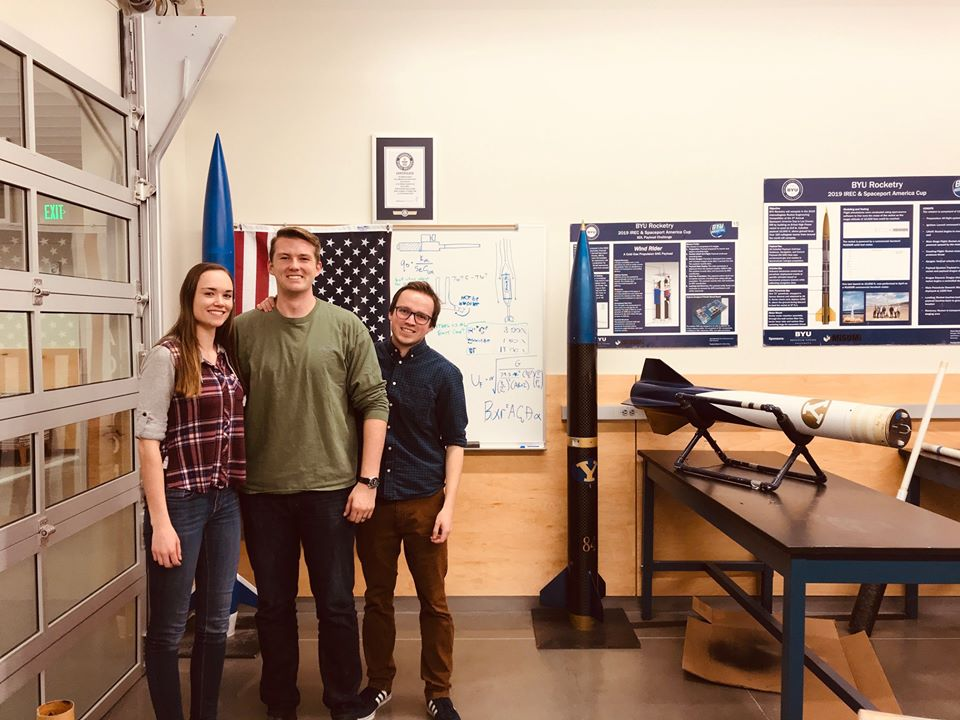 BYU students create Alka-Seltzer rocket for engineering competition