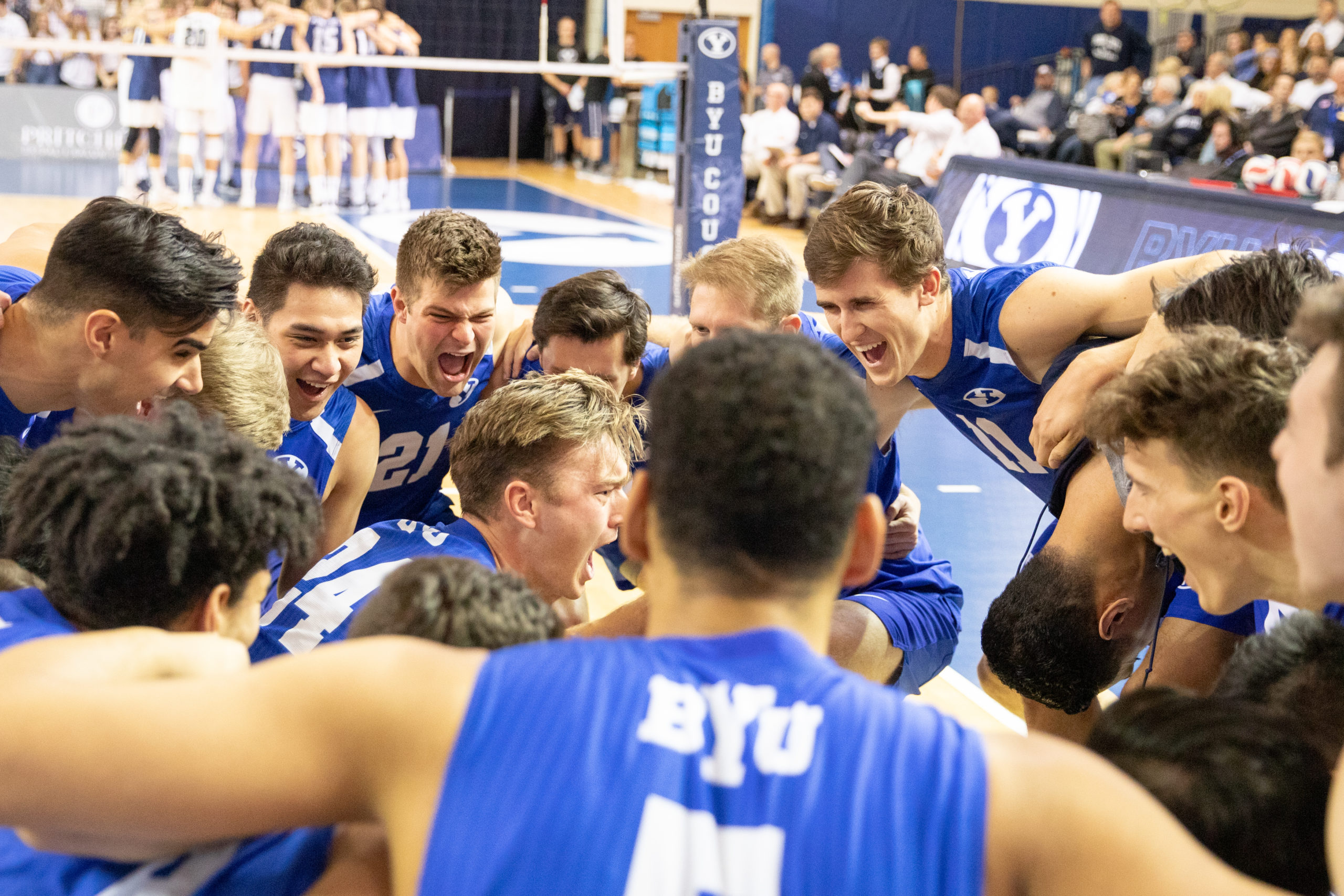 Photo Gallery Byu Men S Volleyball Sweeps Penn State For The Second Time The Daily Universe