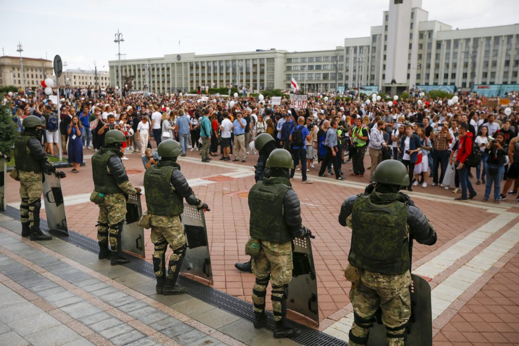 Outside The Outbreak Thousands Protest Belarus Election Biden Picks Kamala Harris As Running Mate The Daily Universe