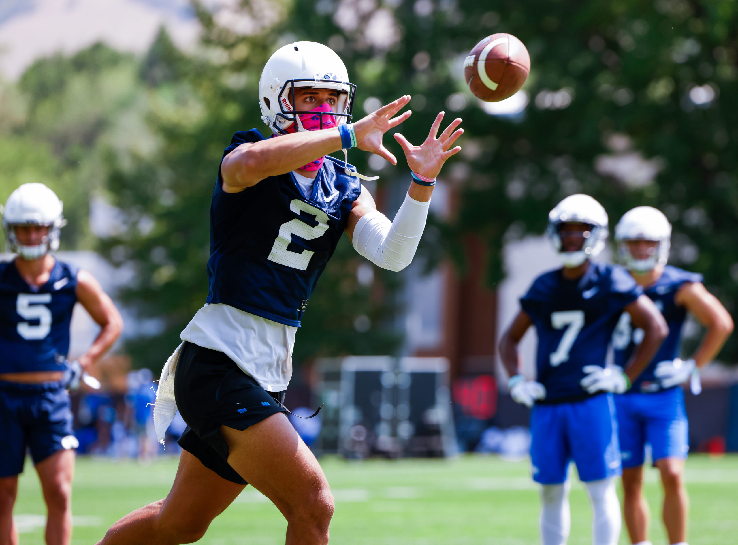 BYU football receiving corps looks to utilize full potential