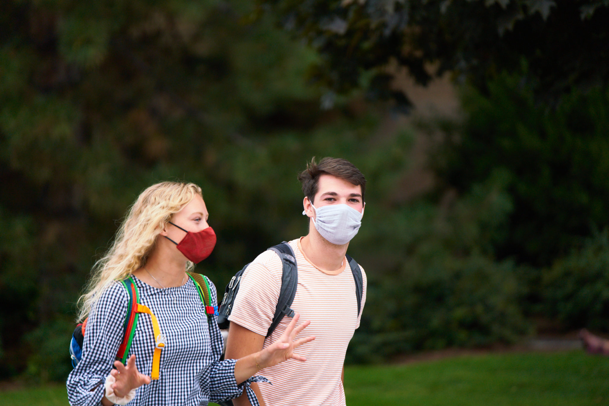 Public health professors say social distancing isn't just for campus