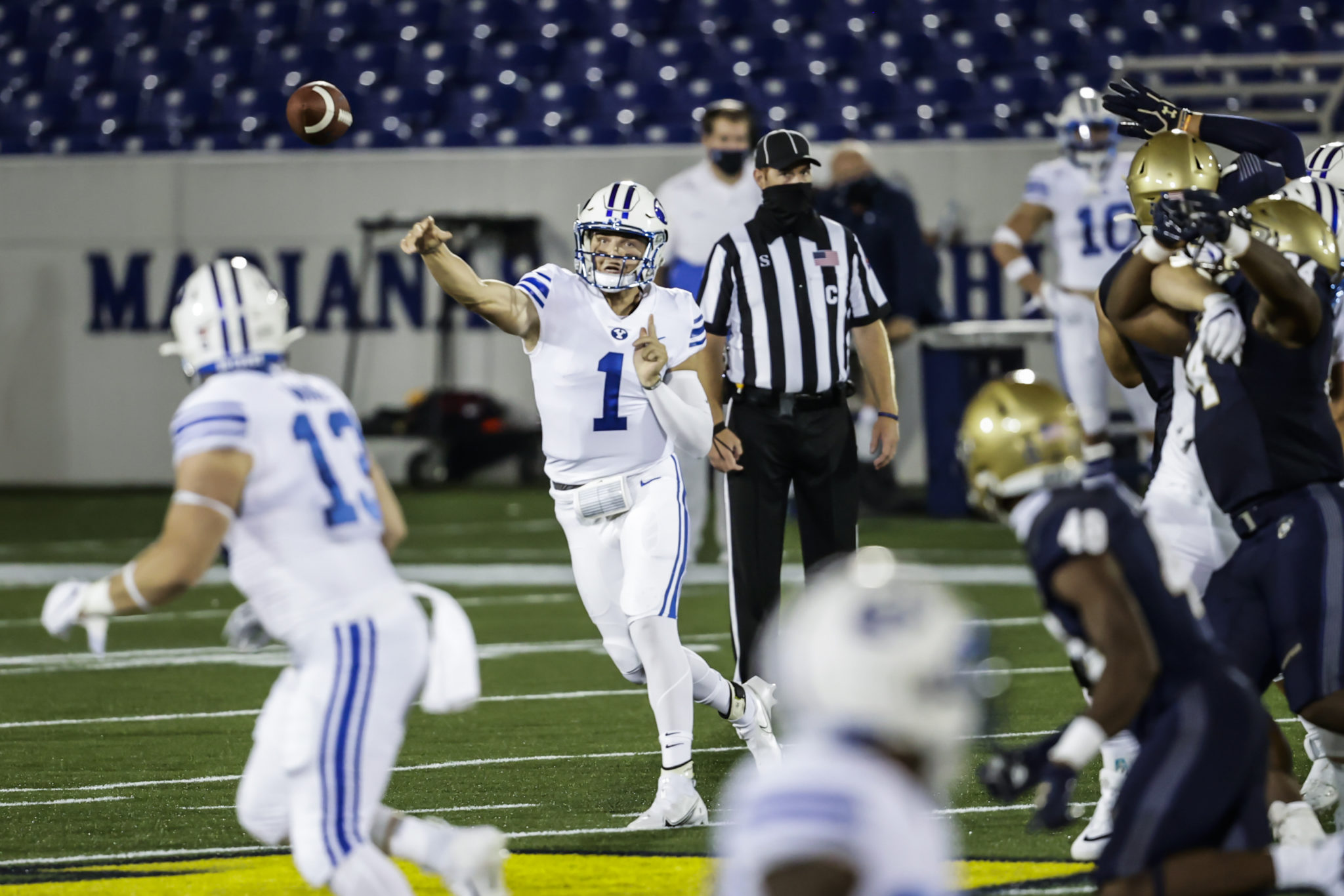 BYU Football's Zach Wilson named Manning Award Quarterback of the Week