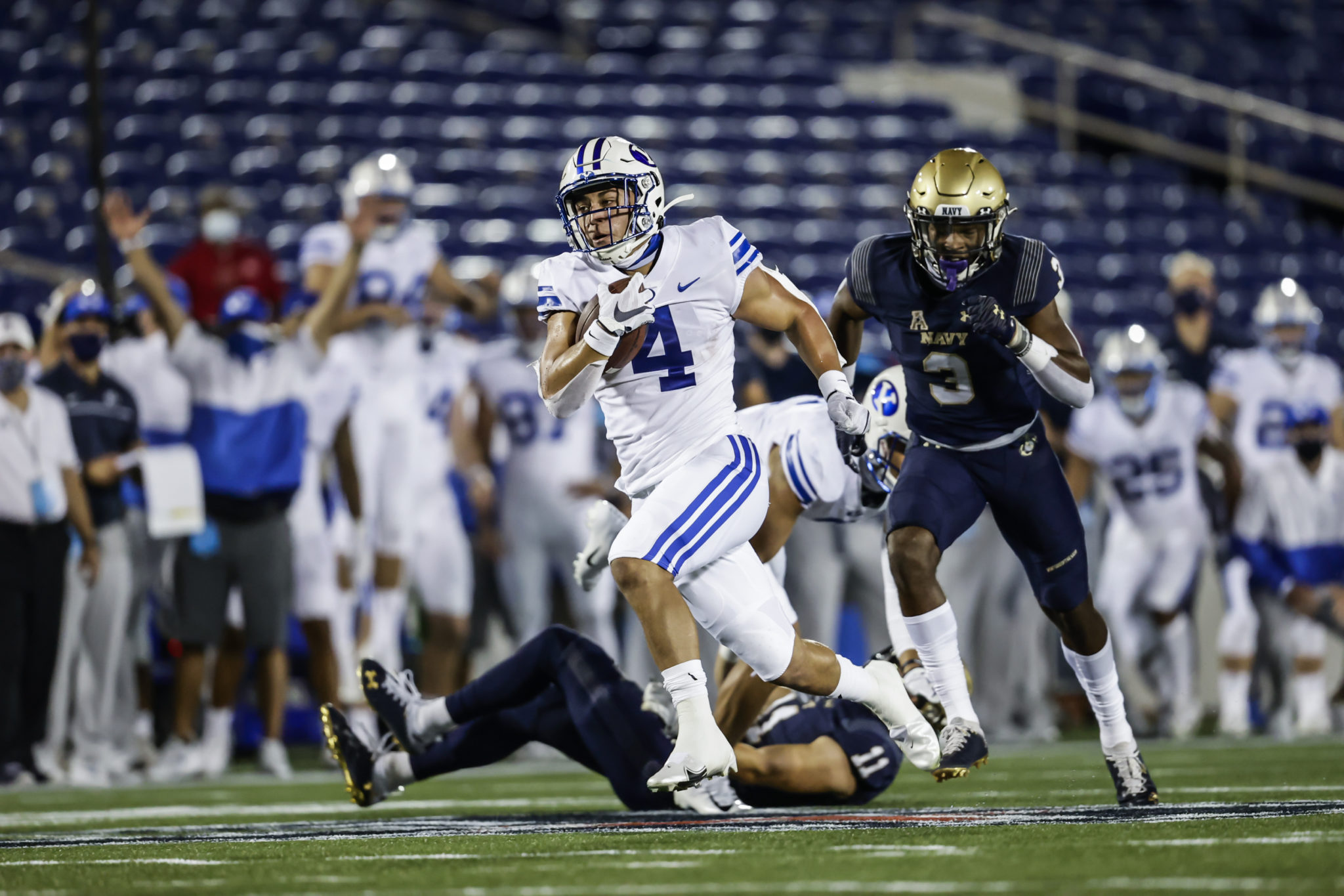 BYU Football dominates Navy 55-3 in season opener