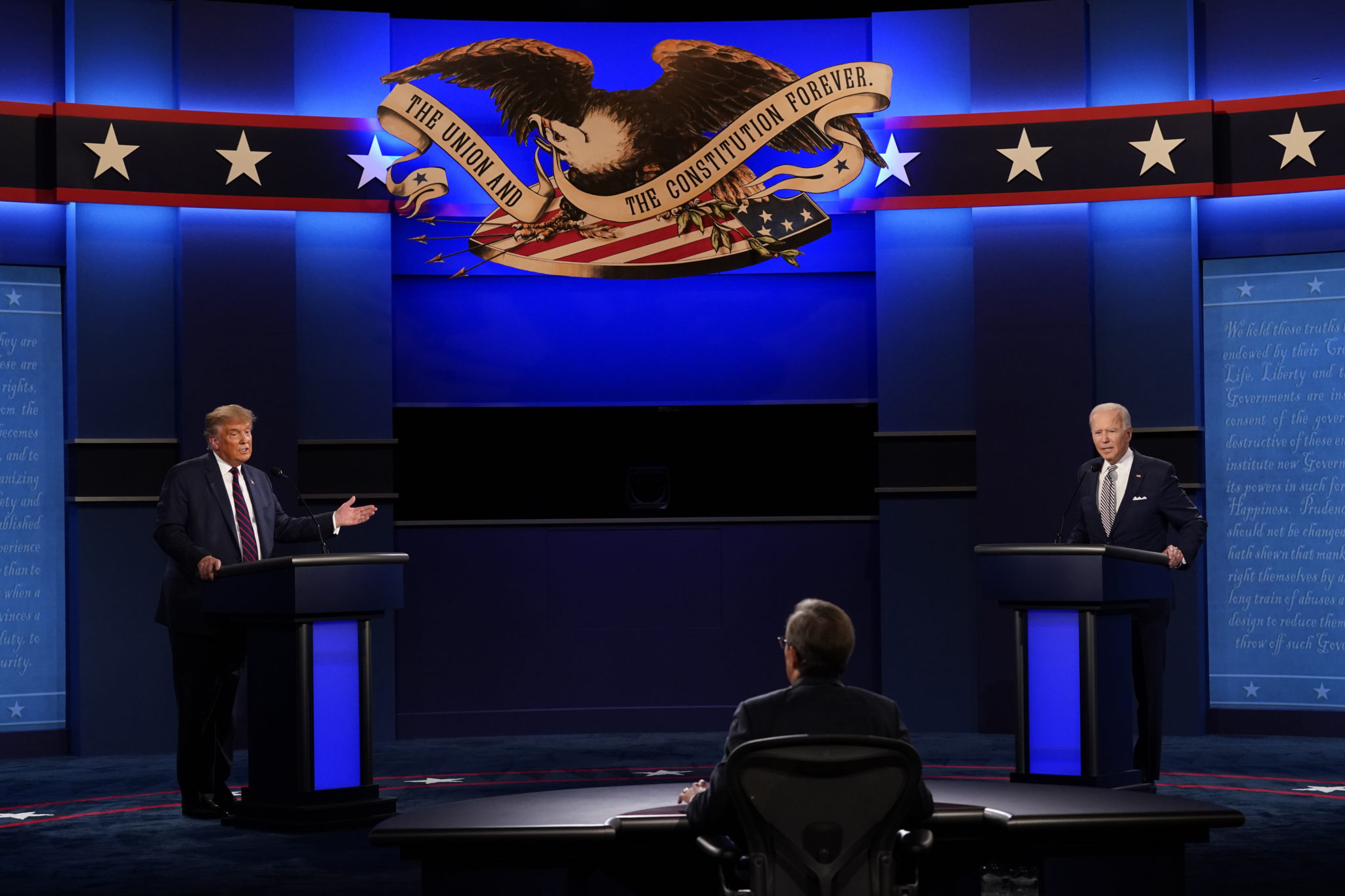 BYU College Republicans and Democrats React to First Presidential Debate