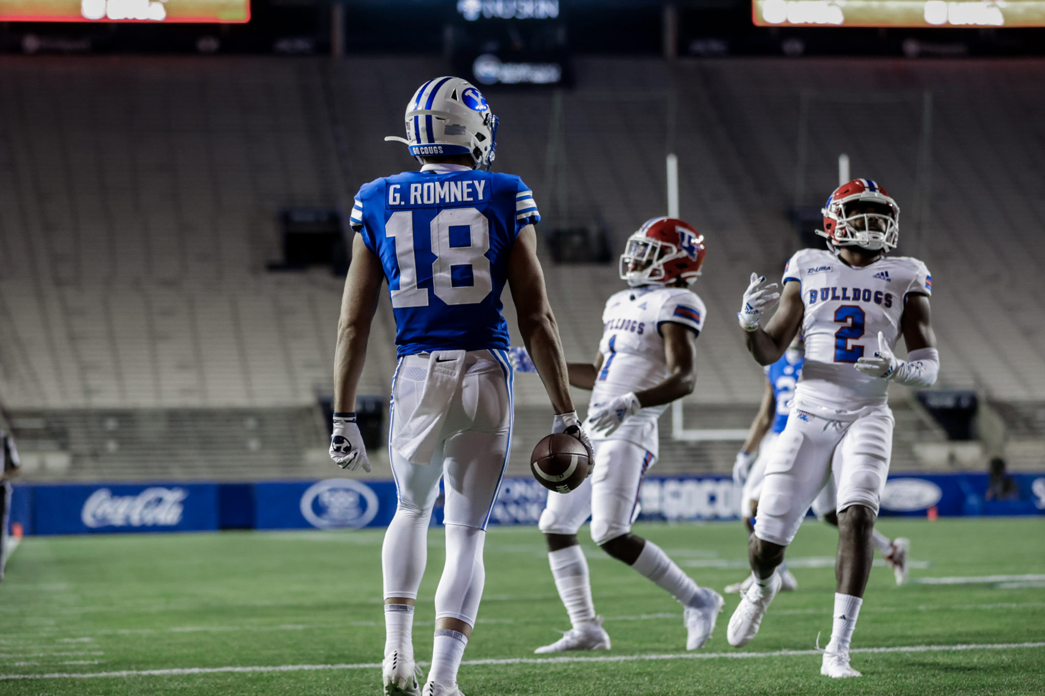 BYU Football 3-0 for the first time under Sitake after 45-14 win over LA Tech
