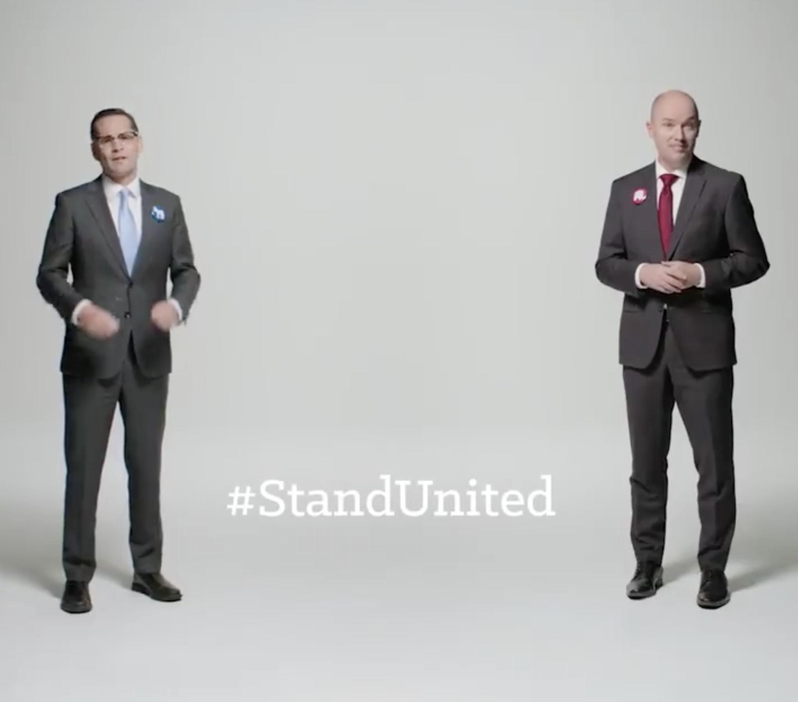 #StandUnited: Utah gubernatorial opponents promote unity in political ads