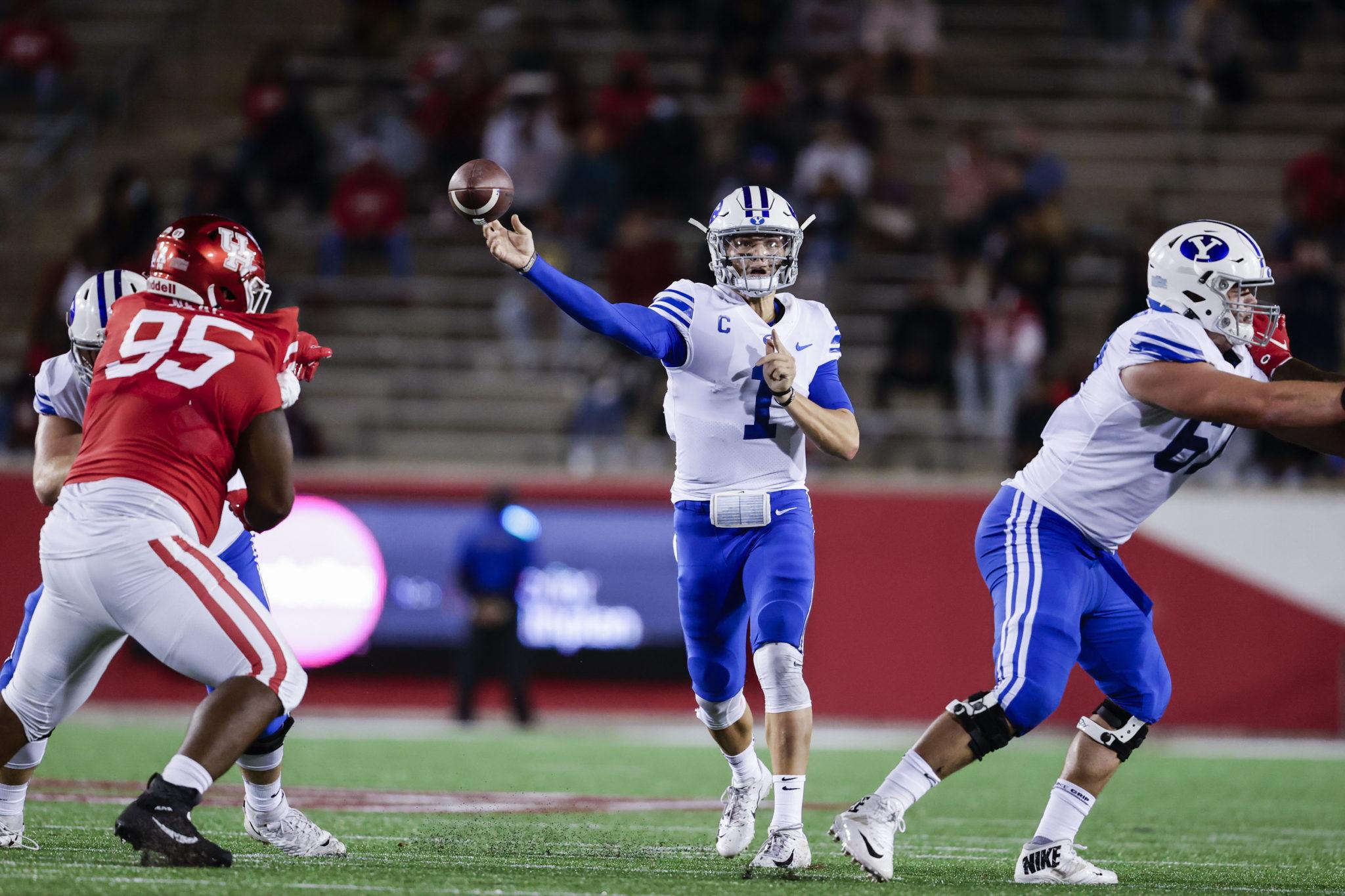 Milestones, win streak on the line as BYU faces Western Kentucky
