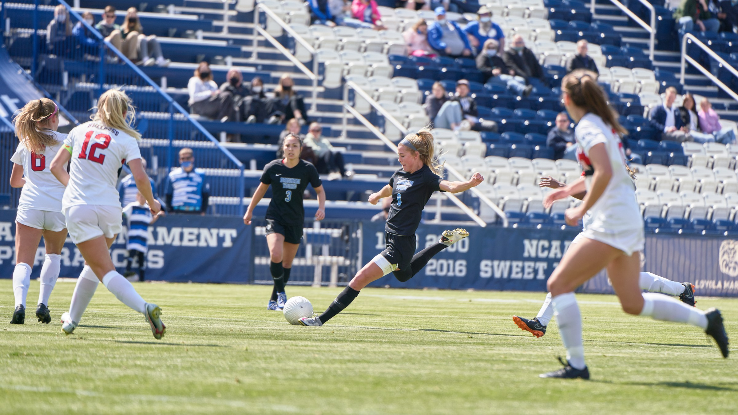 No. 12 BYU women's soccer shut out in NCAA Tournament loss to Virginia