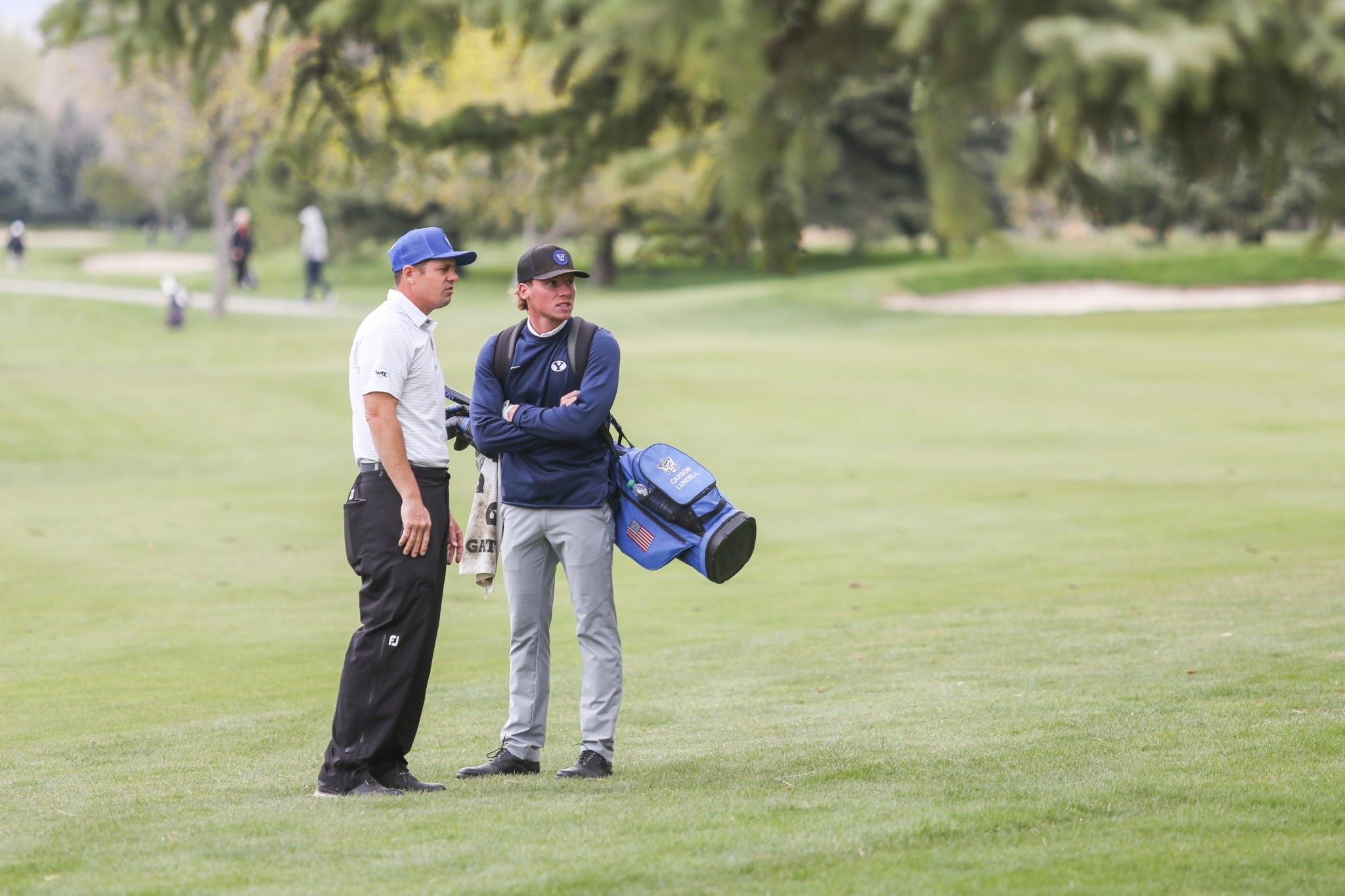 BYU men's golfer Carson Lundell ties for first at PING Cougar Classic
