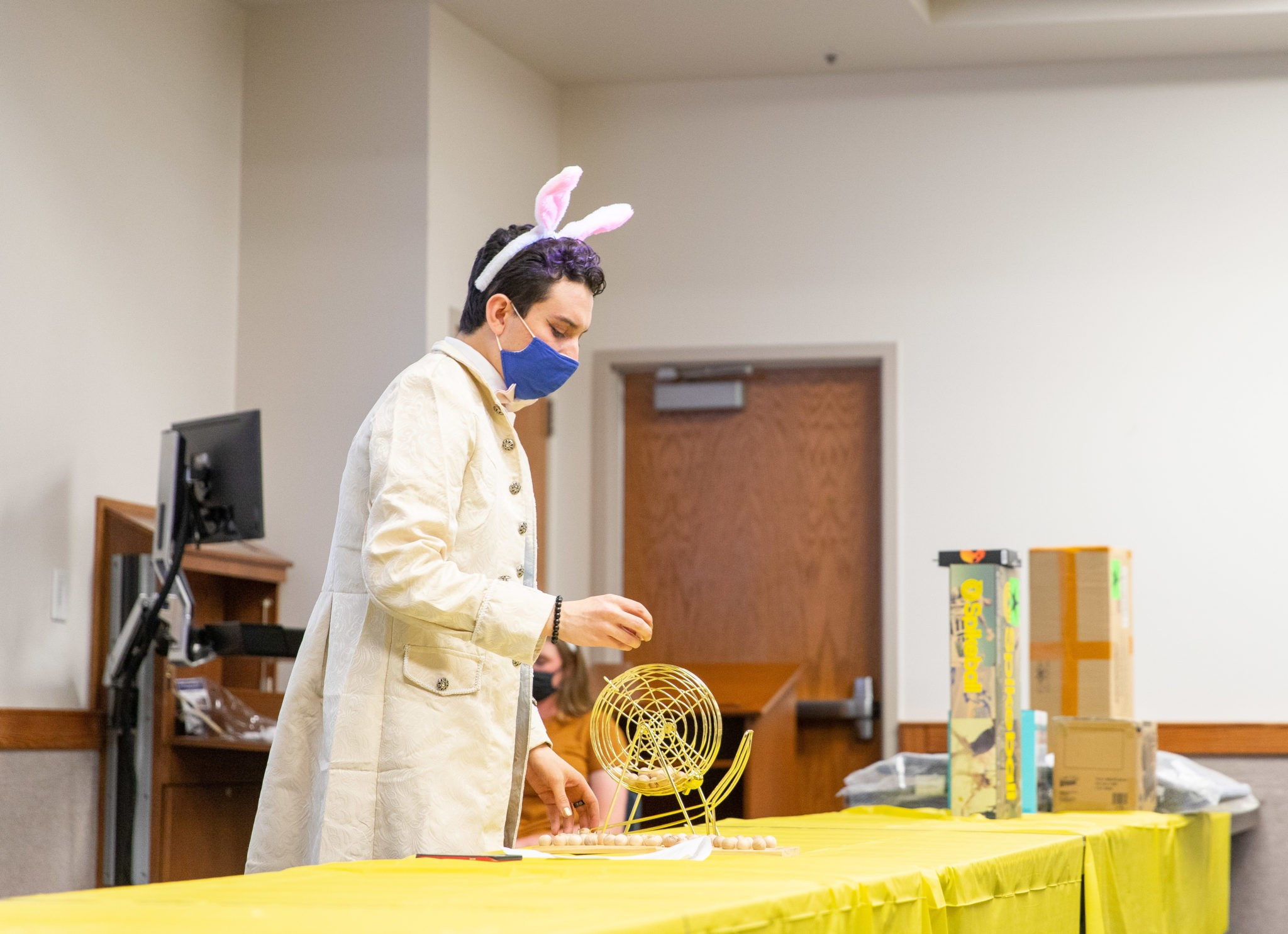 BYUSA's Easter Bingo gives out treats, air fryer and eight-person tent