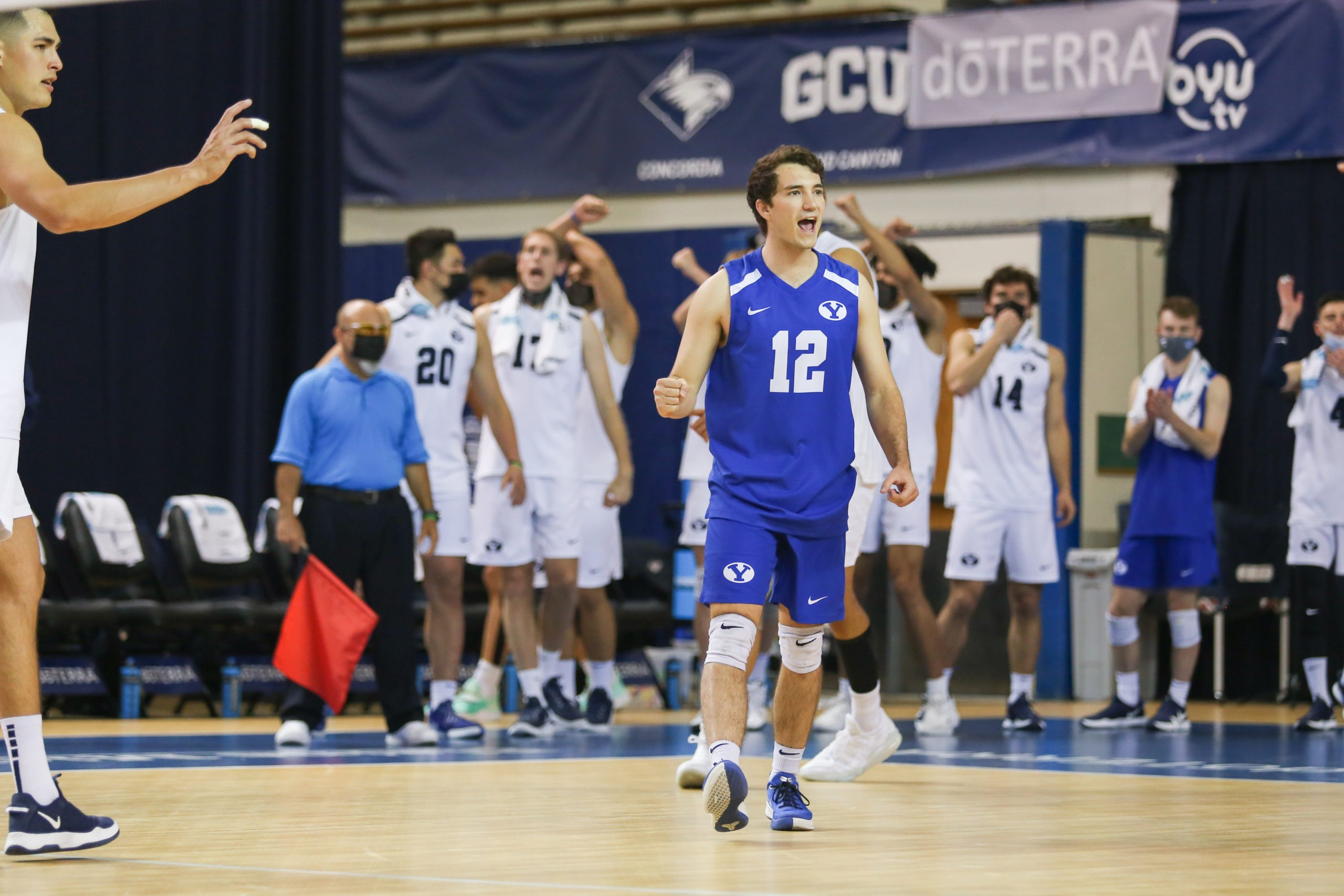 No. 2 BYU men's volleyball sweeps No. 4 Grand Canyon in MPSF semifinal