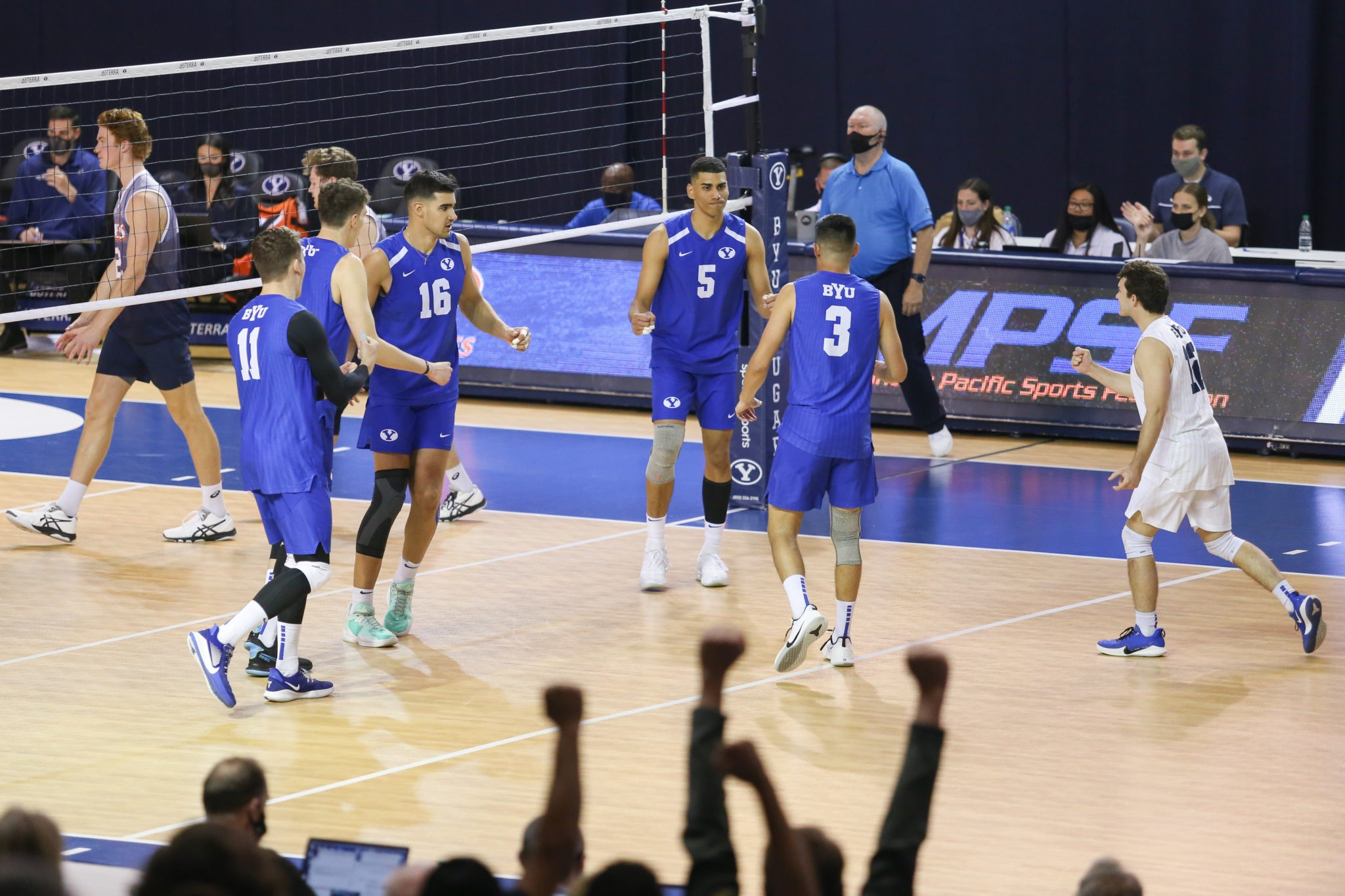 BYU men's volleyball sweeps Pepperdine in MPSF Championship to earn NCAA Tournament bid