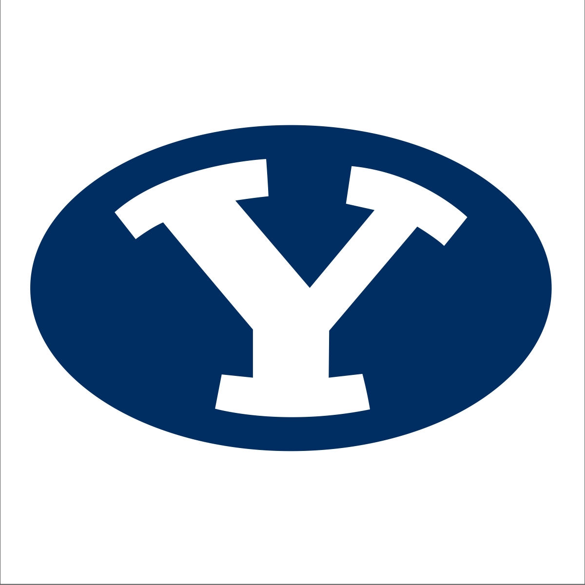 Secondary 'sailor cougar' logo reinforces BYU's tradition ... Y Logo