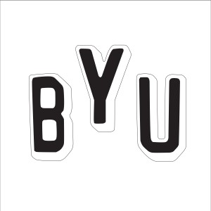 BYU 3D Letters