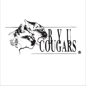 BYU Cougars with real Cougars