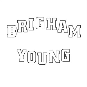 Brigham Young Outlined Letters
